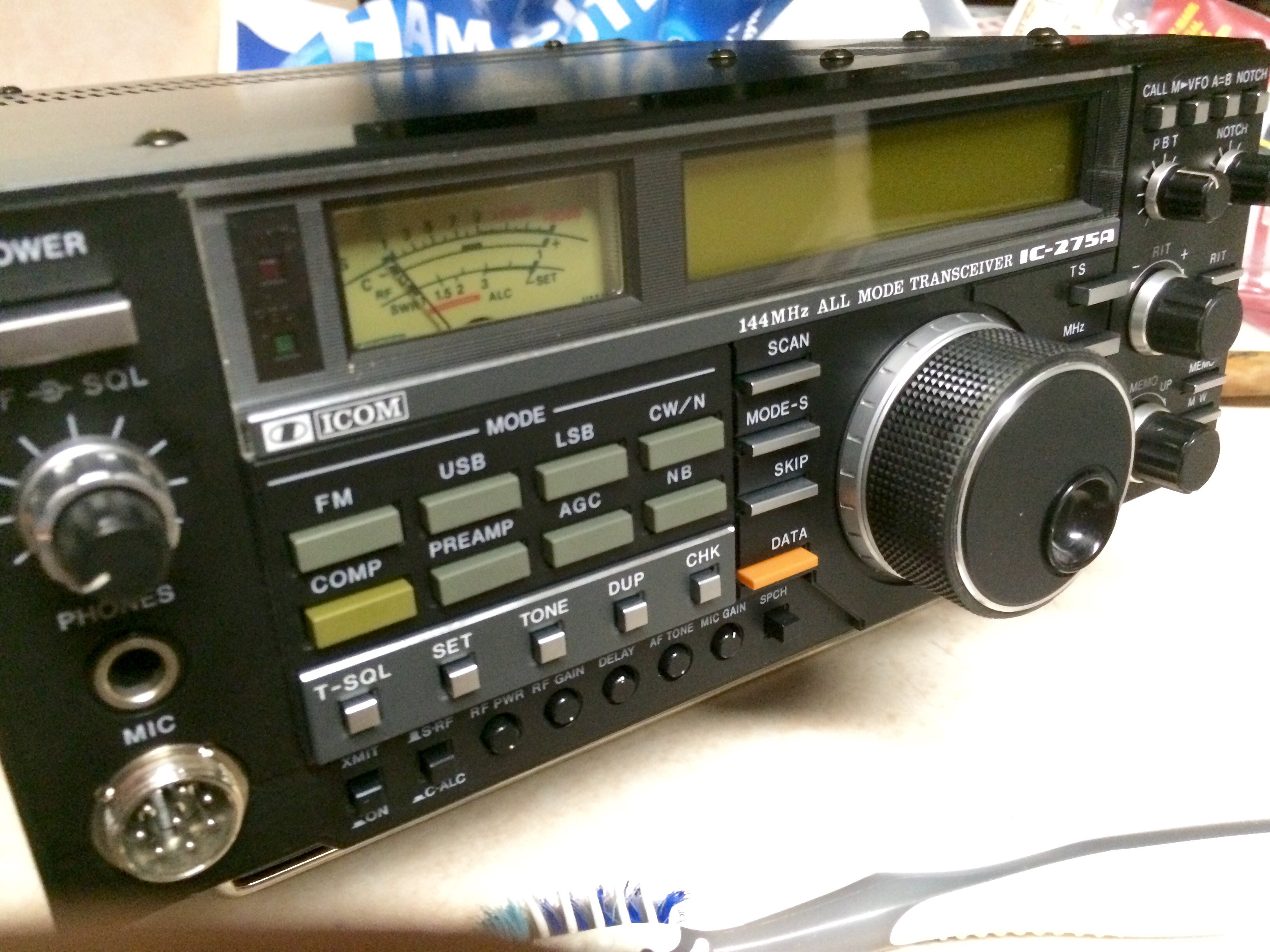 iCom IC-275A 2M All-mode - N6PET - My Ham Radio Journal