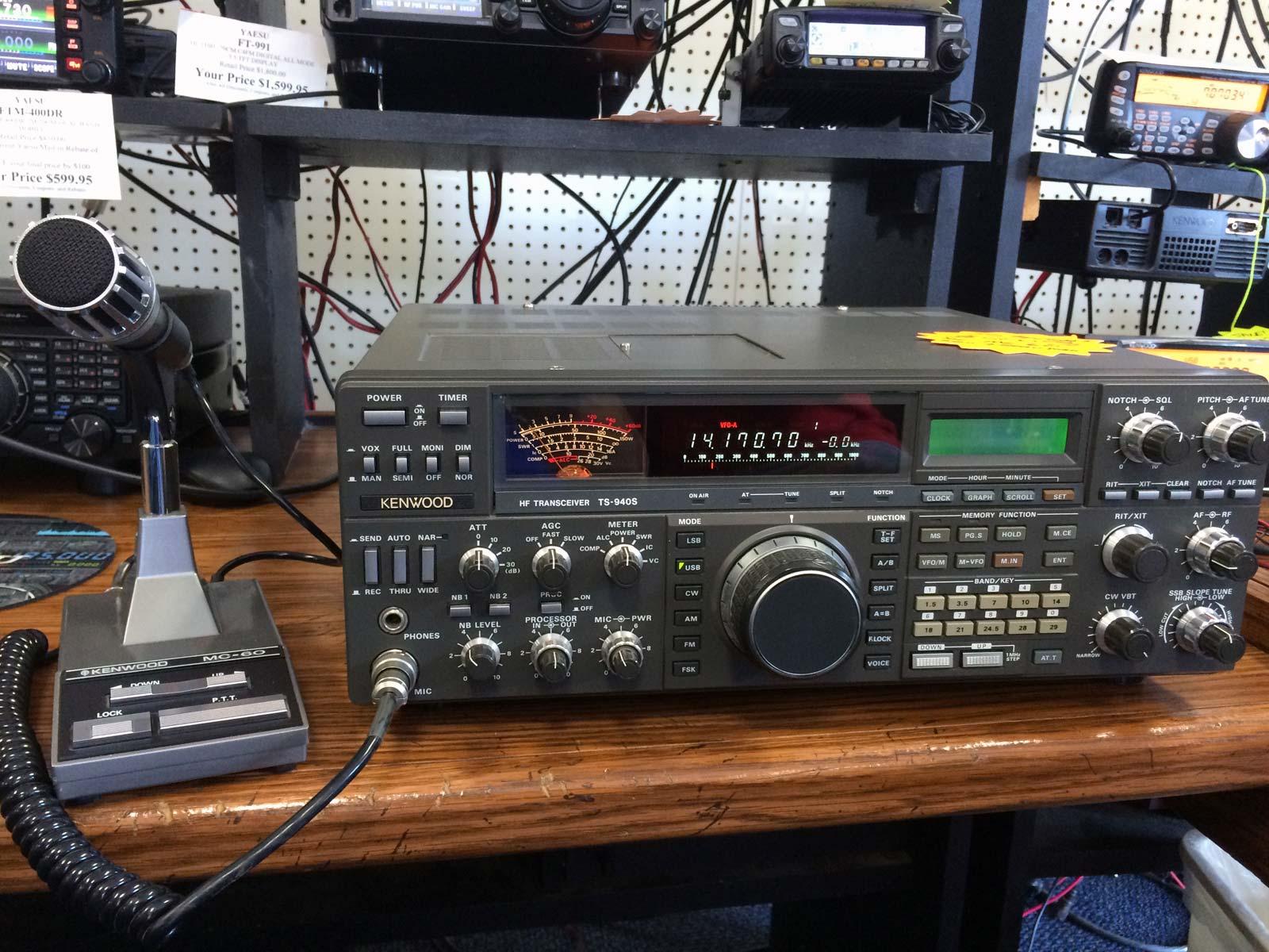 Phase 6: Kenwood TS-940SAT - N6PET - My Ham Radio Journal