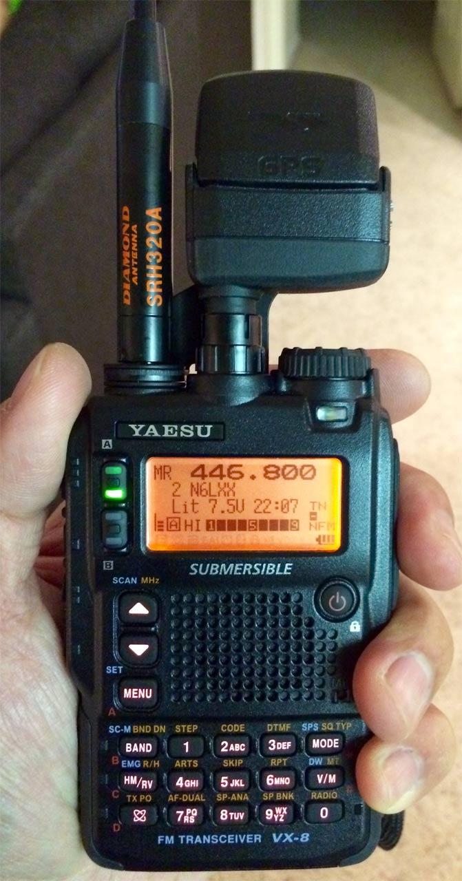 Review Yaesu Vx 8dr N6pet My Ham Radio Journal