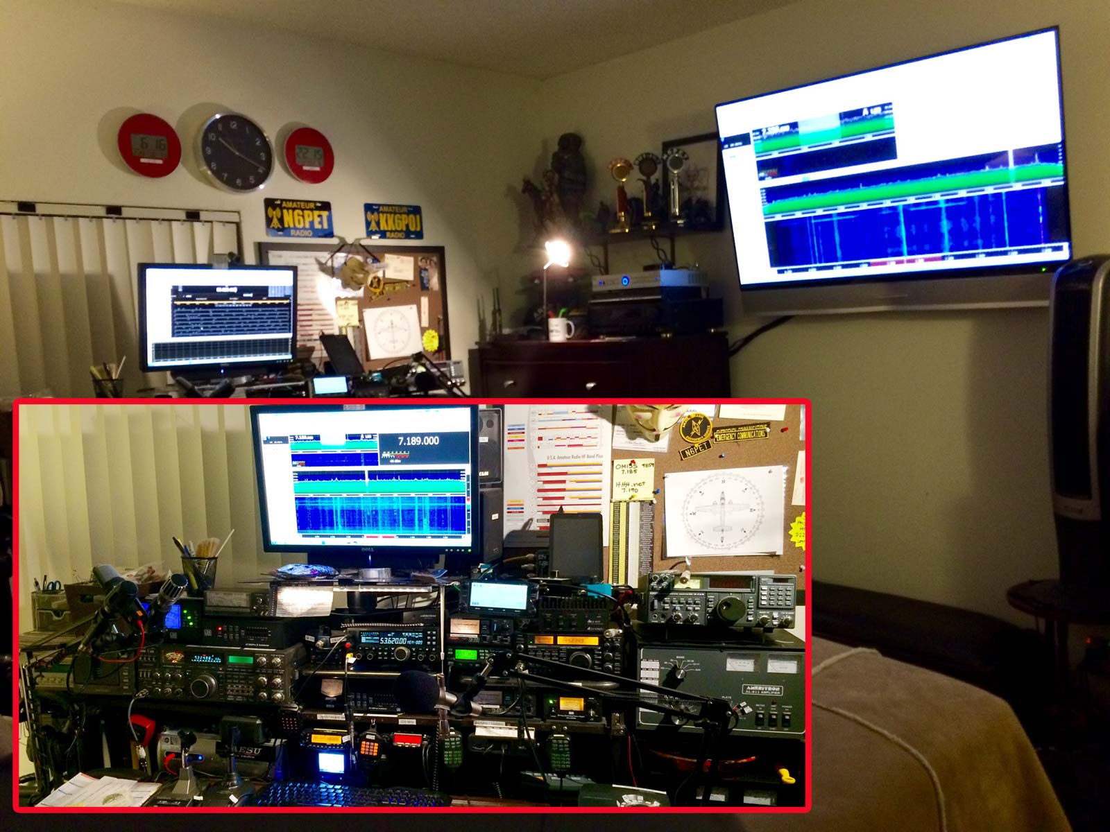 My Shack A Year After - N6PET - My Ham Radio Journal