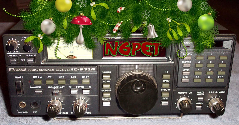 IC-R71A HF Receiver - N6PET - My Ham Radio Journal