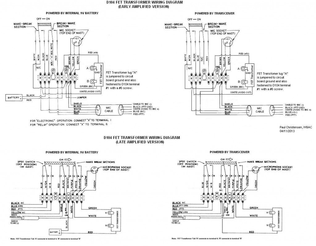 microphone cartridge wiring diagram doesnt work astatic d astatic d104 wiring diagram astatic d104 wiring diagram